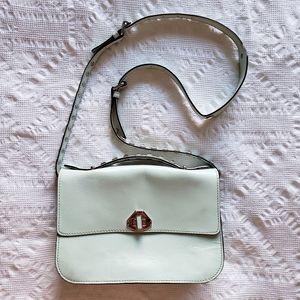 Rebecca Minkoff Blake Mint Leather Crossbody Bag